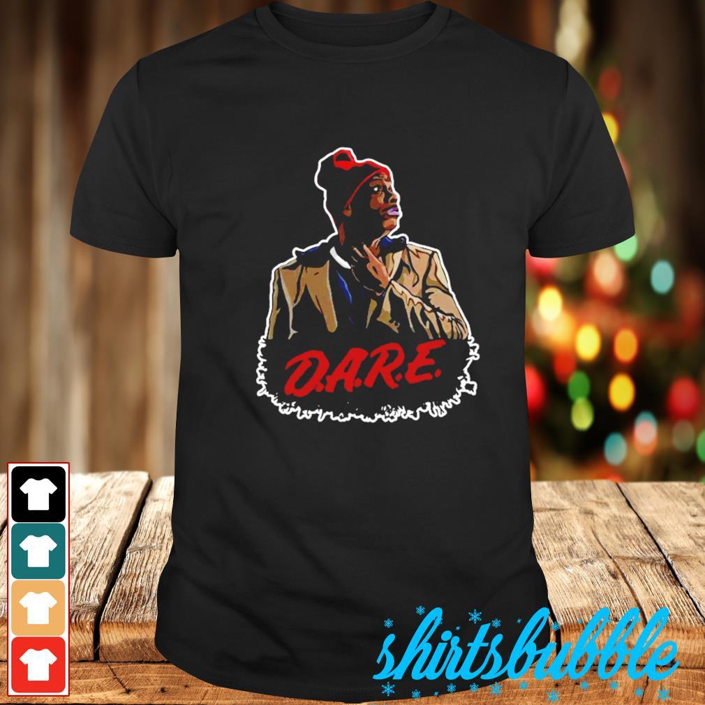 Dave Chappelle's Tyrone Biggums D.A.R.E. shirt