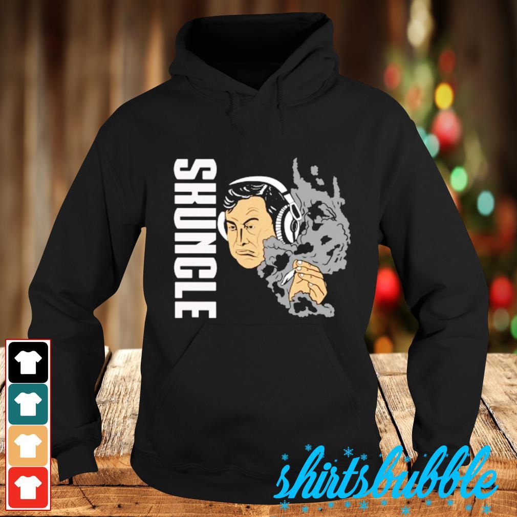 Elon Musk smoking weed skuncle Hoodie