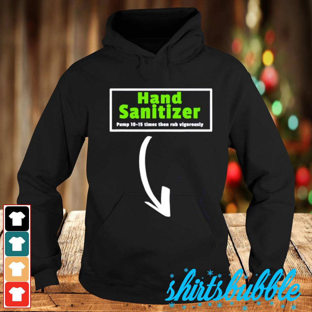 Hand sanitizer funny Hoodie