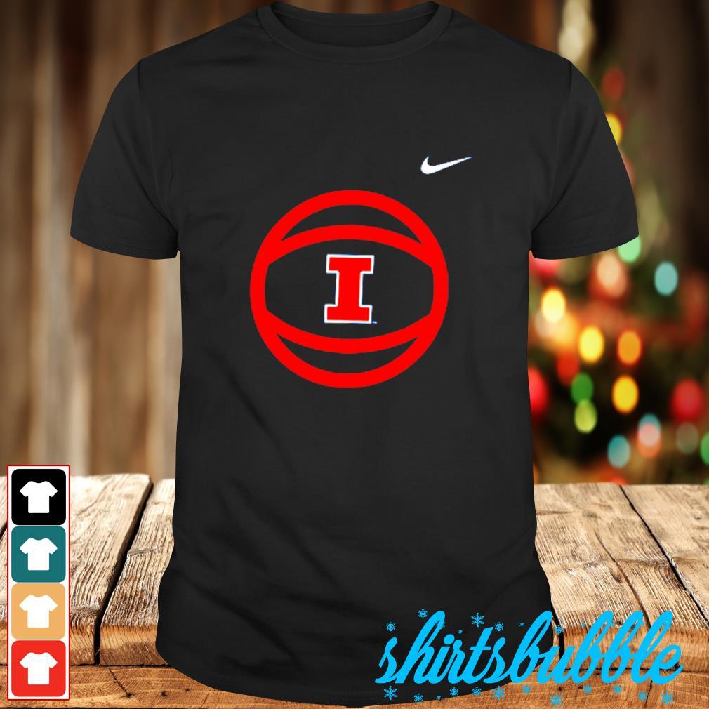 Illinois Fighting Illini Nike logo shirt