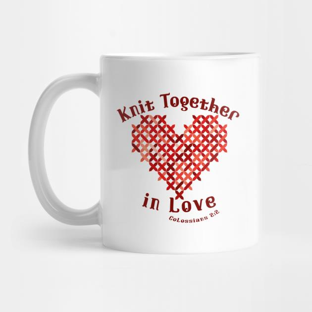 Knit together in love colossians mug