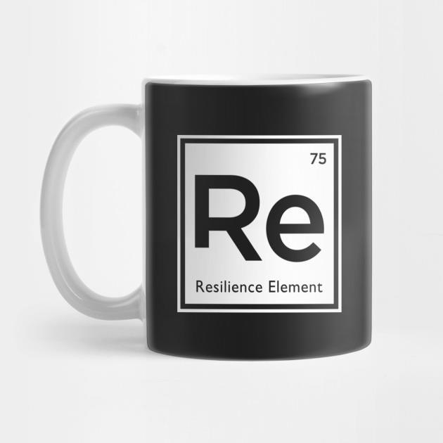 Re 75 resilience element mug