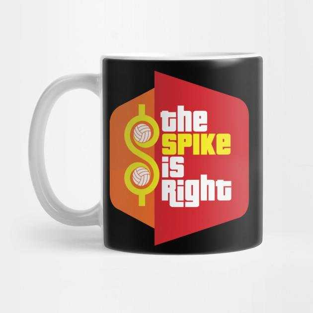 The spike is right mug