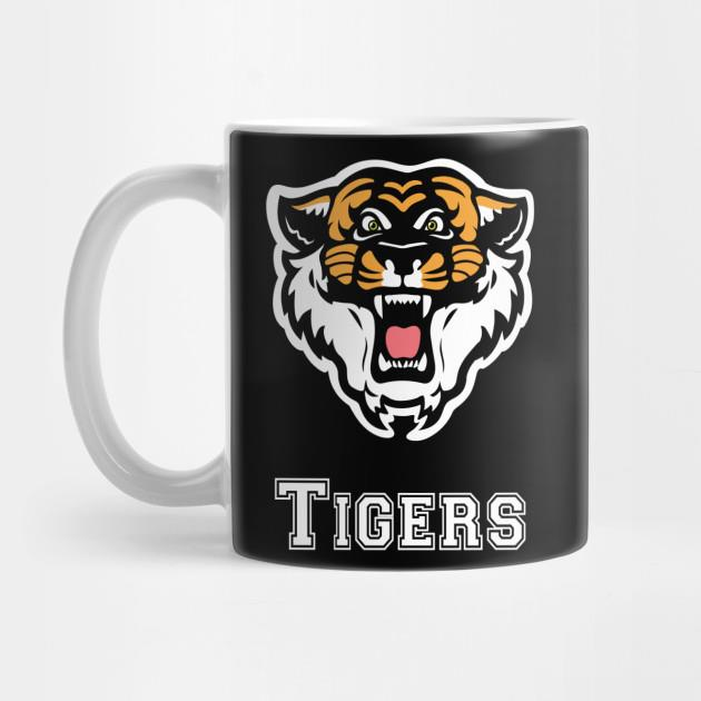 Tiger team sports coach mug