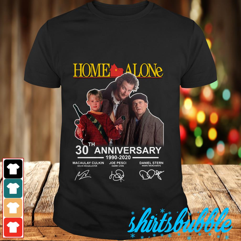 Home Alone 2020 Release Date.Home Alone 30th Anniversary 1990 2020 Signatures Shirt