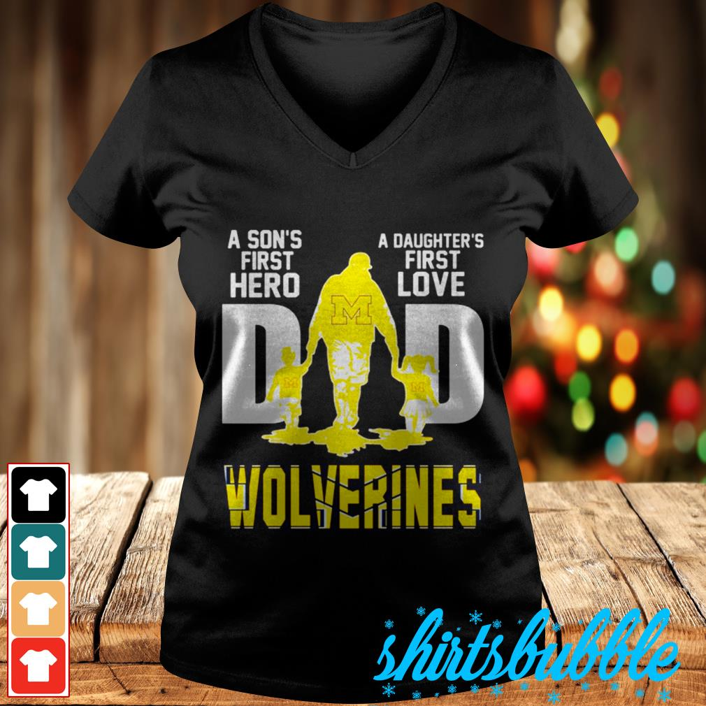 Download A Son's first hero a daughter's first love dad wolverines ...