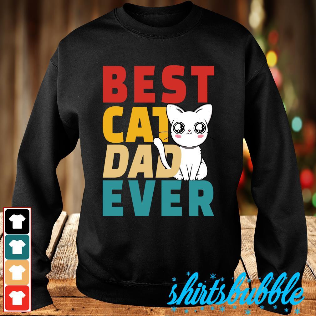 Best cat dad ever s Sweater