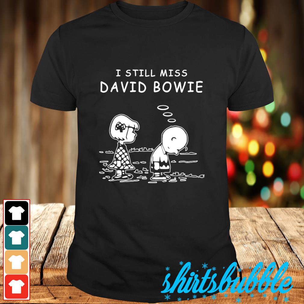 Charlie Brown I still miss Chris Bowie shirt