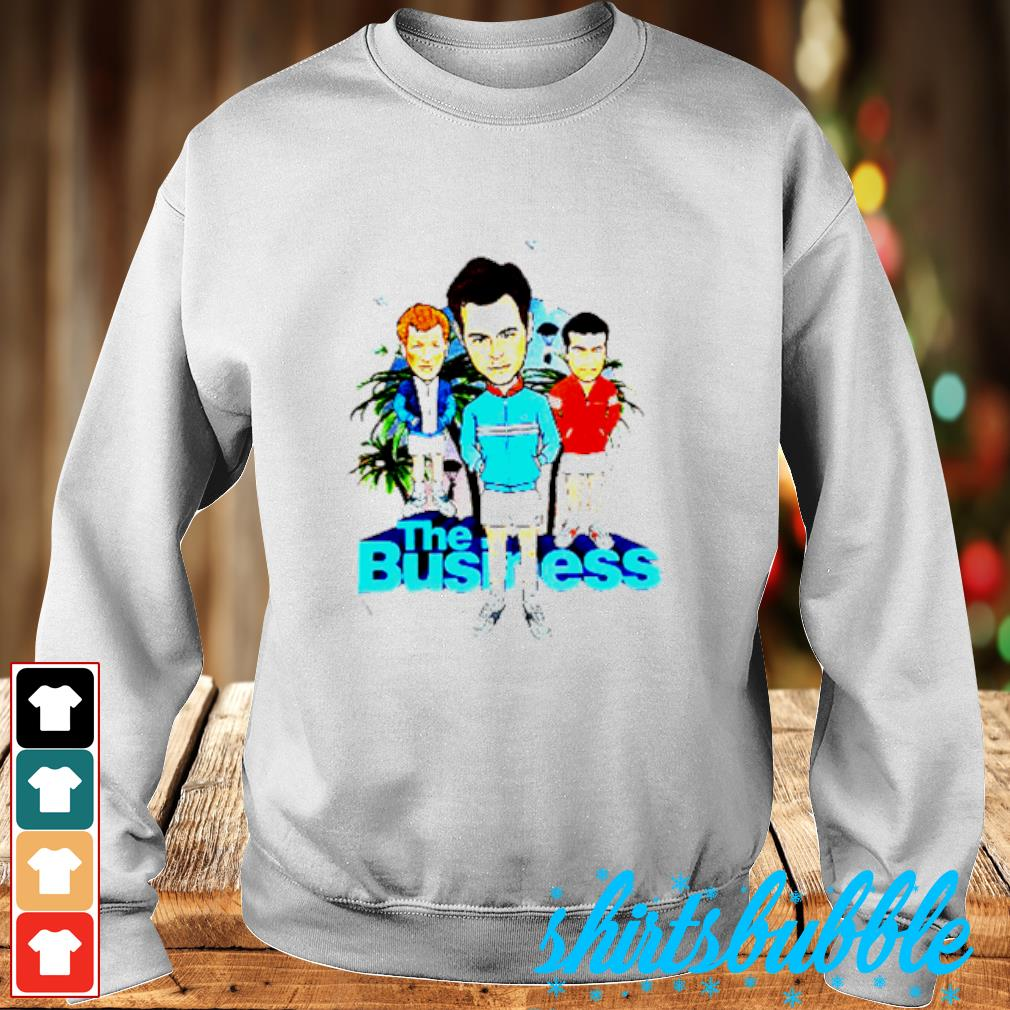 The Business Shirt Sweater