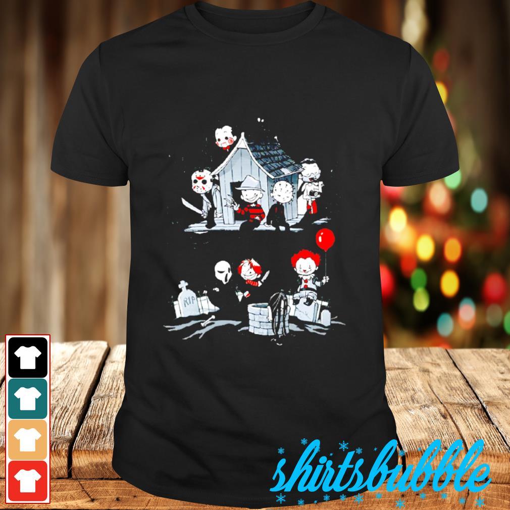 Halloween character horror movies shirt