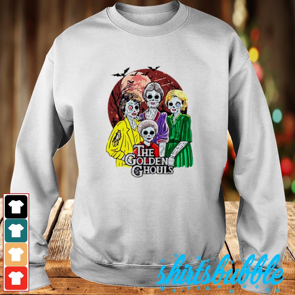 Happy Halloween The Golden Ghouls s Sweater