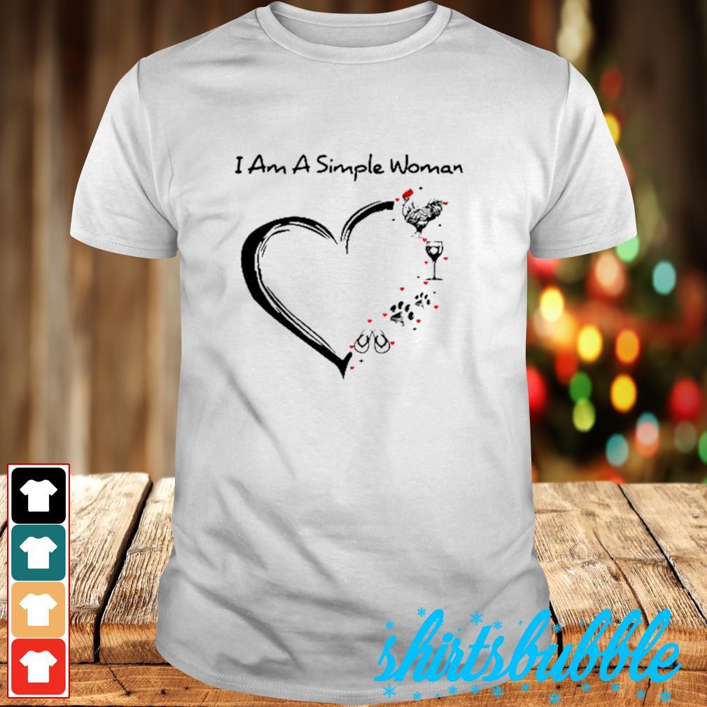 I am a simple woman shirt