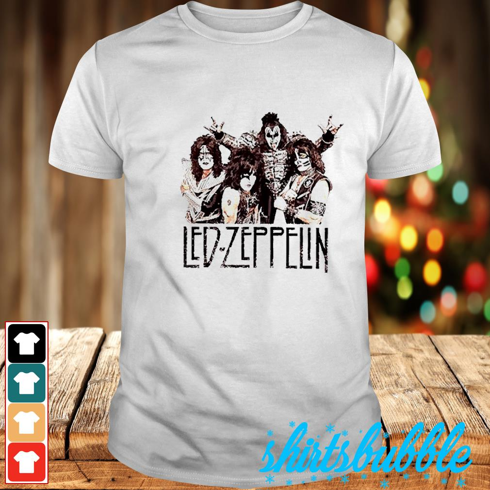 Led Zeppelin rock band shirt