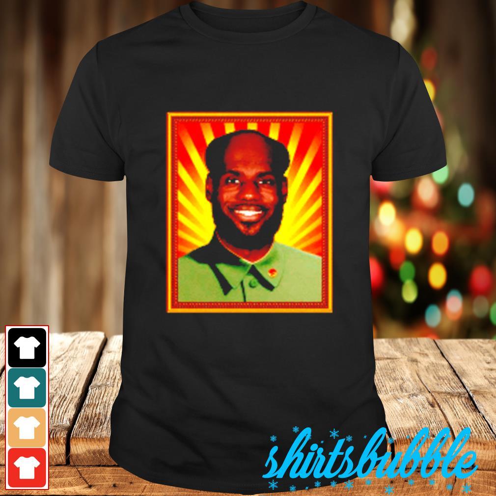 Mao Lebron shirt