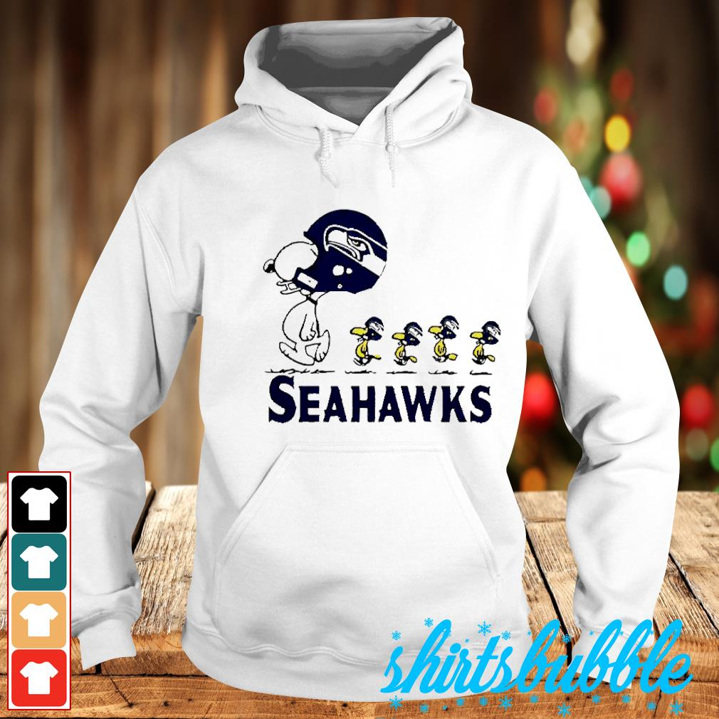 Snoopy and Woodstock player of Seattle Seahawks s Hoodie