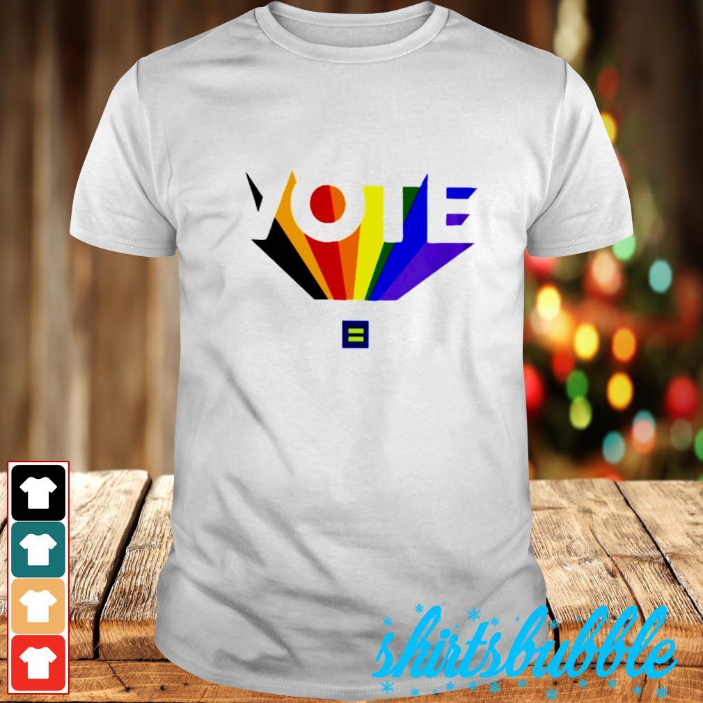 Vote color shirt