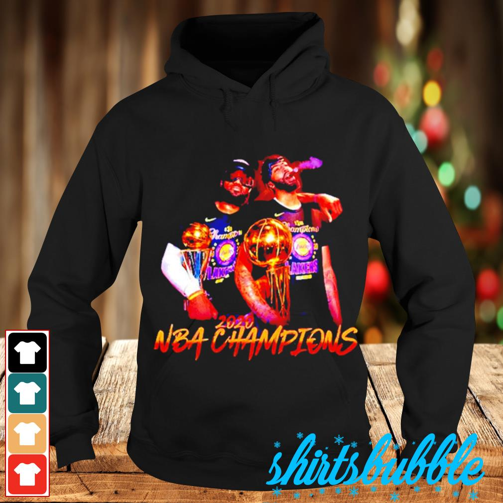 Lakers LeBron James and Danny Green 2020 NBA champions s Hoodie