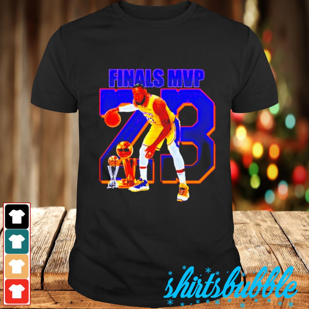 Lebron James finals MVP 23 shirt