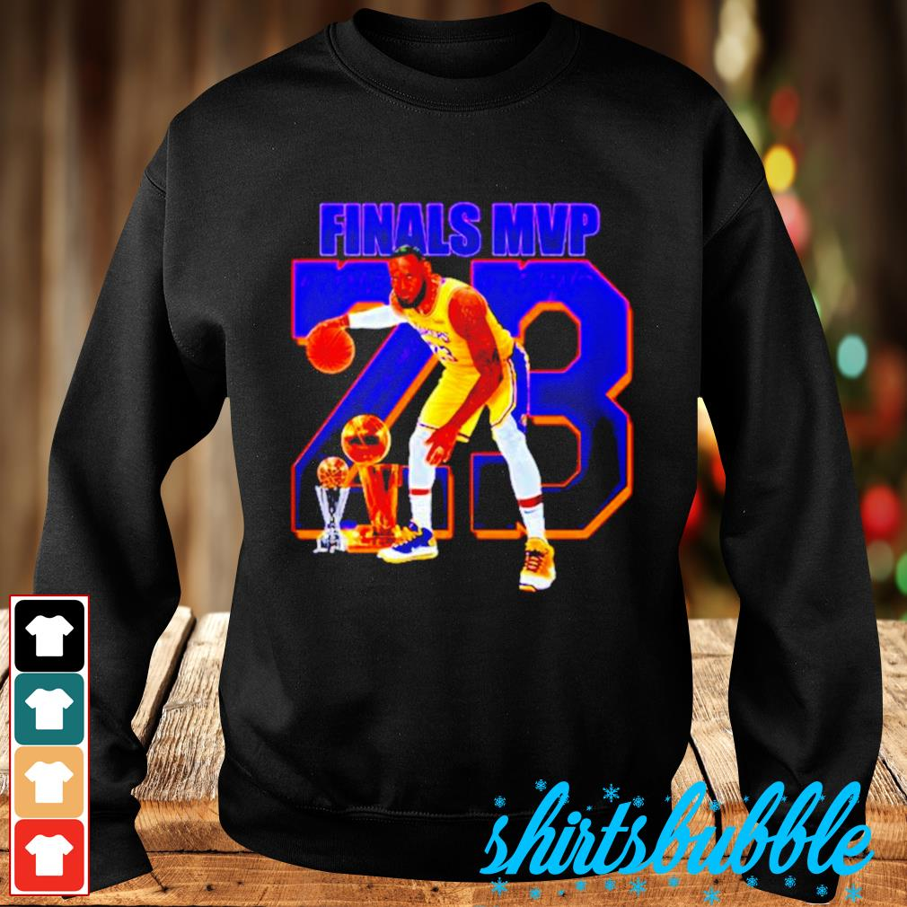 Lebron James finals MVP 23 s Sweater