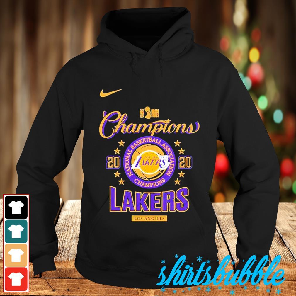Nike Los Angeles Lakers 2020 NBA finals champions s Hoodie