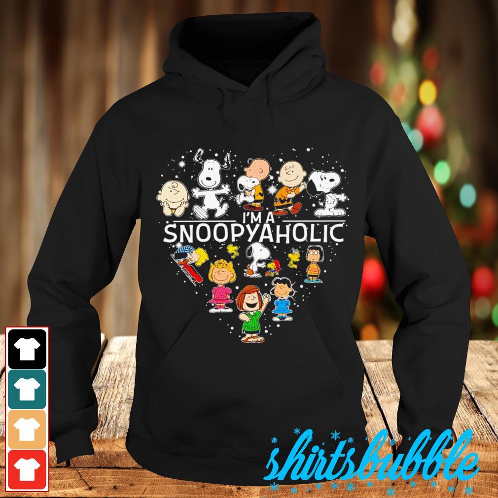 Peanuts heart I'm a Snoopyaholic s Hoodie