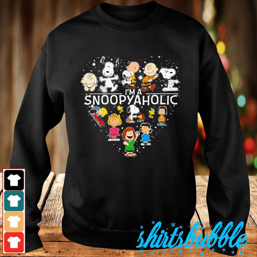 Peanuts heart I'm a Snoopyaholic s Sweater