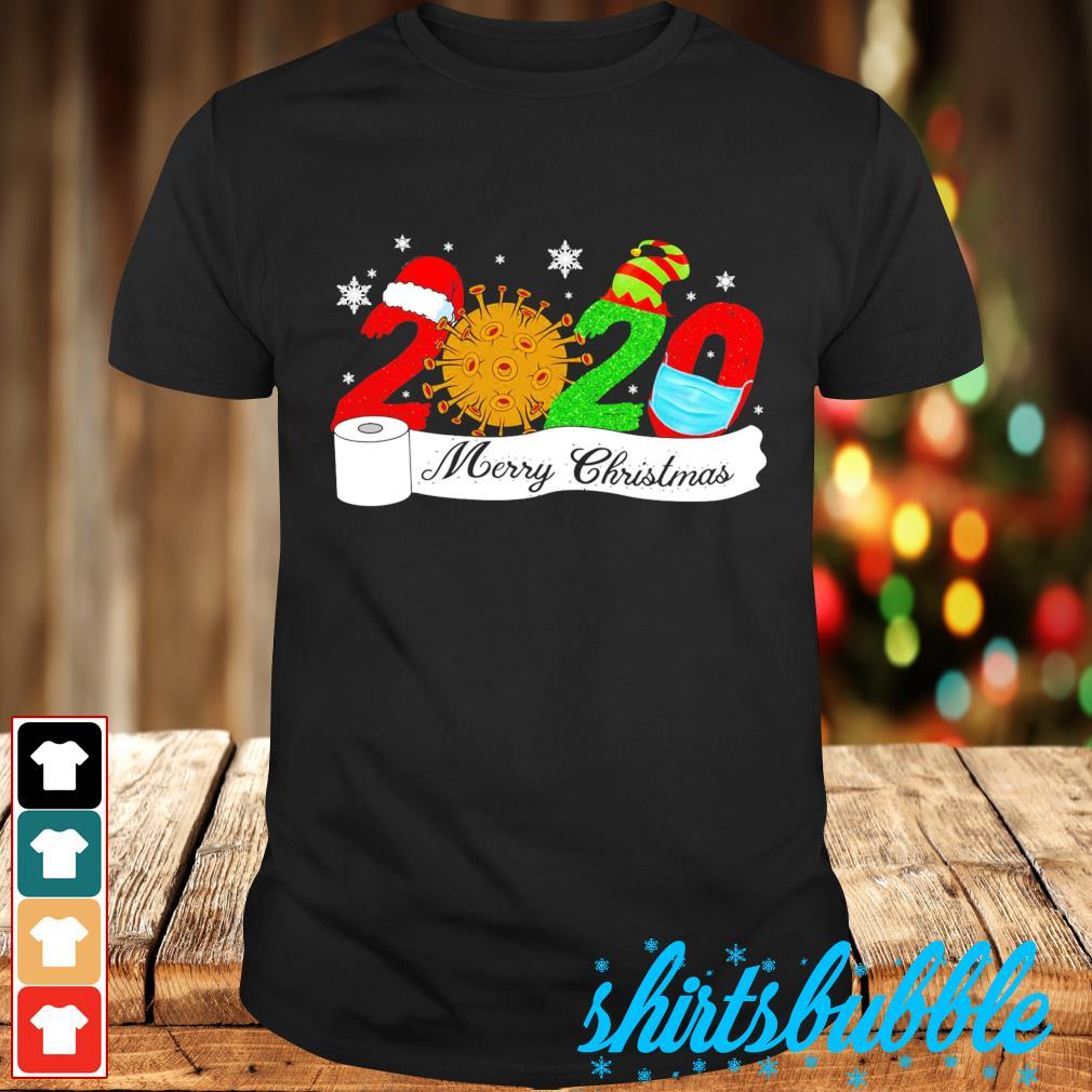 Quarantine Christmas Merry Christmas toilet paper shirt