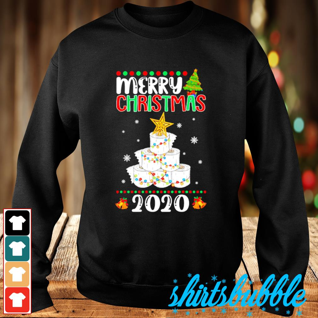 Quarantine Christmas toilet paper tree Merry Christmas 2020 s Sweater