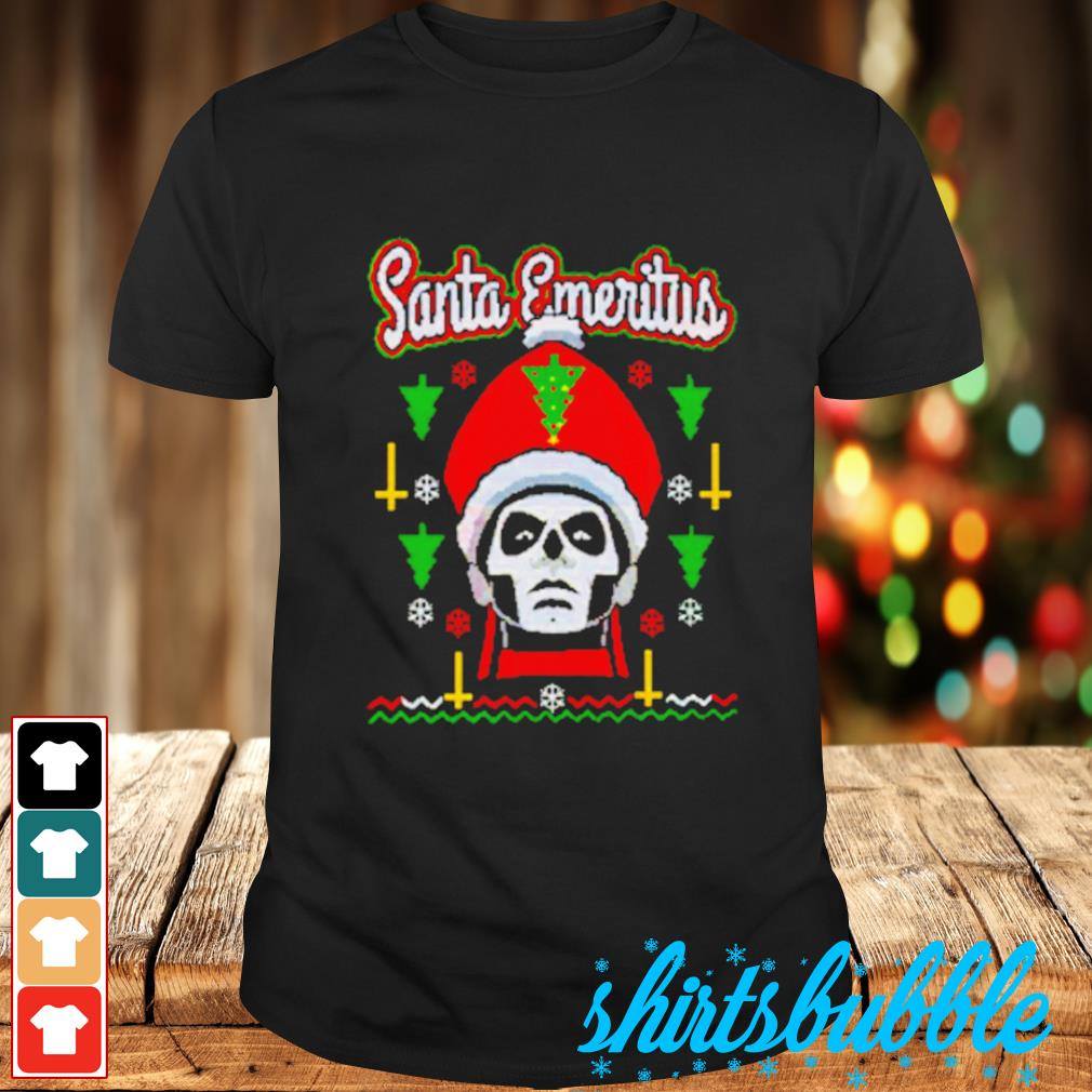 Santa Emeritus Christmas shirt
