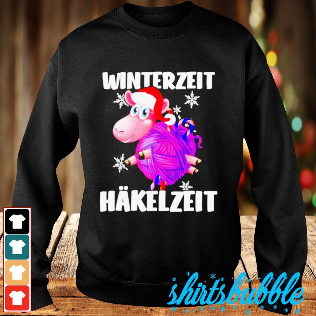 Sheep Santa hat Winterzeit Hakelzeit Christmas s Sweater