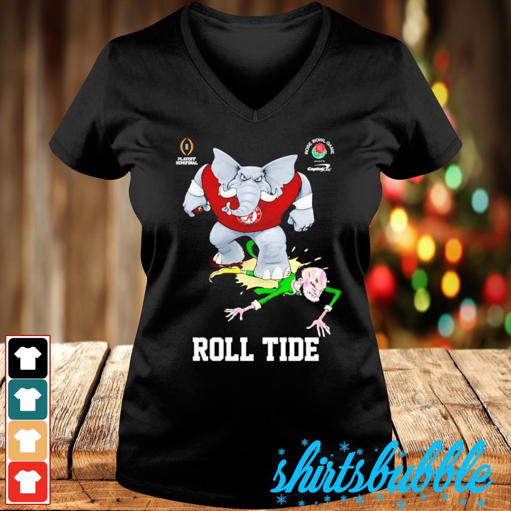 Alabama Crimson Tide Rose Bowl Game Roll Tide s V-neck t-shirt