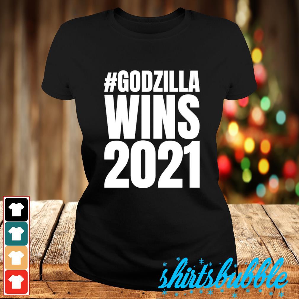 #Godzilla wins 2021 s Ladies-tee