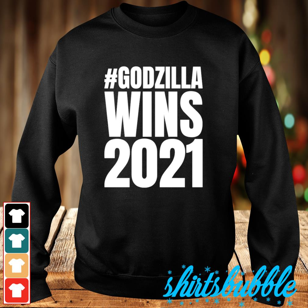 #Godzilla wins 2021 s Sweater